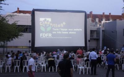 Du cinéma avec CinéVillage et les prestations plein air !